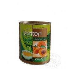 Abrikosų skonio žalioji arbata, 100g