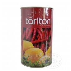 Aitriųjų paprikų ir citrinų skonio žalioji arbata (lapeliais) 100 g