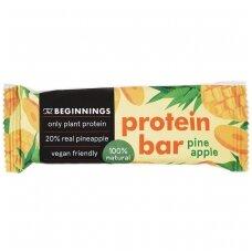 Batonėlis baltymų su ananasais, 40 g