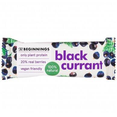 Batonėlis baltymų su juodaisias serbentais, 40 g