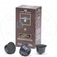 Caffè Carracci, Espresso Palermo, kavos kapsulės - Tinka Dolce Gusto aparatams