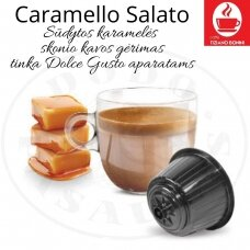Caramello Salato – Salted caramel flavored coffee drink