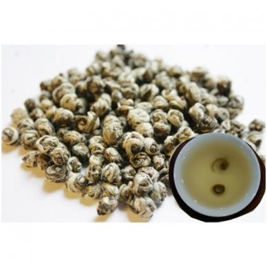 """""""Dragon pearls"""" – Jazminų skonio žalioji arbata, 50 g 2"""