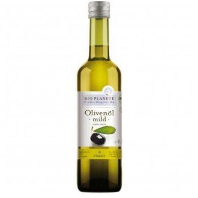 Extra virgin švelnus alyvuogių aliejus, ekologiškas, 0,5 L