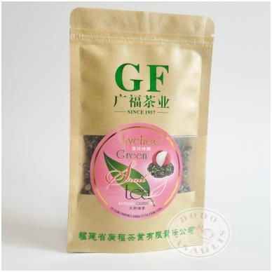 """""""Green snail"""" Kininių ličiųskonio Žalioji arbata (Fujian provincijos), 50 g"""