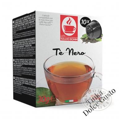 Juoduoji arbata - ENGLISH BREAKFAST – Arbatos kapsulės – Tinka Dolce Gusto aparatams
