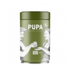 "Kava ""PUPA"" Malta, Azija skardoje, 250g"