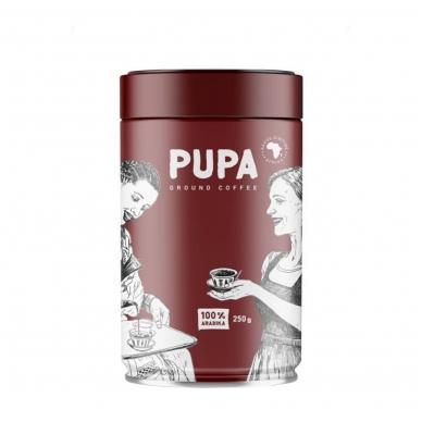 """Kava """"PUPA"""" Malta, Afrika skardoje, 250g"""