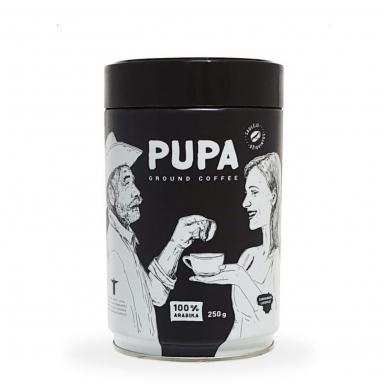 """Kava """"PUPA"""" Malta, Brazilija skardoje, 250g"""
