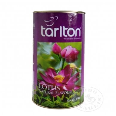 Lotoso natūralaus skonio žalioji arbata, 100g