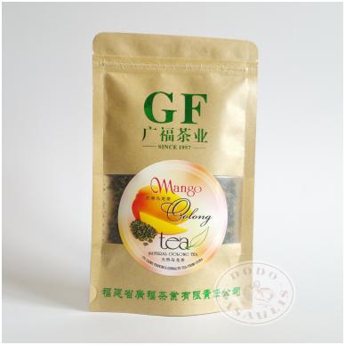 Mangų skonio Oolong – natūrali Oolong arbata, 50 g