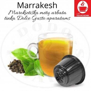 Marrakesh – Marokietiška mėtų arbata