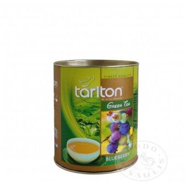 Šilauogių skonio žalioji arbata, 100 g