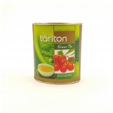 Goji (ožerškio) uogų skonio žalioji arbata, 100g