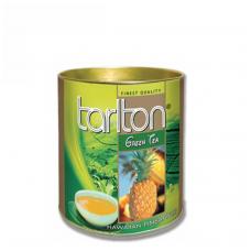 Ananasų skonio žalioji arbata, 100g