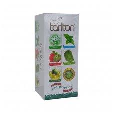 Penkių rūšių žalioji arbata pakeliais, 25 x 2g