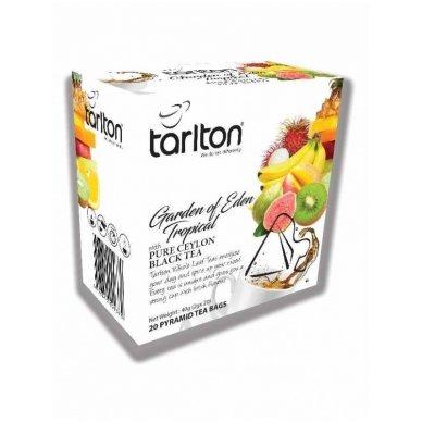 Tropinių vaisių skonio juodoji arbata GARDEN OF EDEN, 20 x 2g
