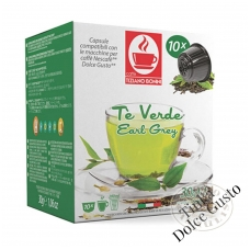 Green Tea Earl Grey (Te Verde) Tea capsules